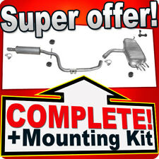 VW VOLKSWAGEN TOURAN 1.9 2003-2004 2.0 TDI 2004-11 Siliencer Exhaust System T45