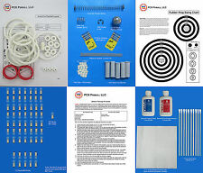 1976 Williams Grand Prix Pinball Deluxe Tune-up Kit - Includes Rubber Ring Kit