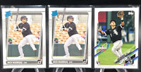 2x Nick Madrigal 2021 Donruss Rated Rookie Chicago White Sox Rookie RC + Topps