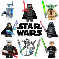 Star Wars CUSTOM Lego Mini Figures Building Jedi Vader Yoda Marvel UK FAST