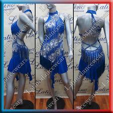LATIN RHYTHM SALSA BALLROOM COMPETITION DANCE DRESS (LT932C)