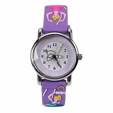 New Ballet girl Children 3D Kids Learn time Silicone Watch girls xmas gift USH33