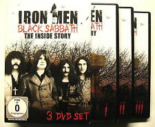 "BLACK SABBATH ""IRON MEN THE INSIDE STORY"" - 3 DVD BOX"