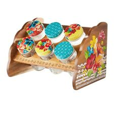 New listing The Pioneer Woman Wildflower Whimsy 6 Jar Spice Rack New in Box