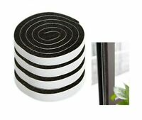 Window Seal Door Gap Sealing Strips Self-adhesive Foam Rubber Seals Durable 4pcs