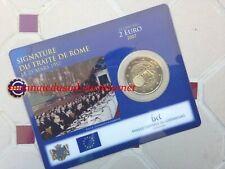 2 Euro CC Coincard BU Luxembourg 2007 - Traité de Rome