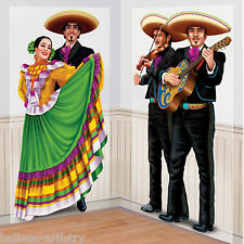 Wild West Mexican Fiesta Festivity Party Scene Setter Add-ons - Mariachi Dancers
