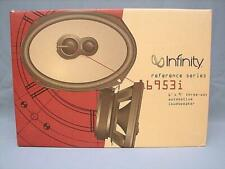 "NEW (2) INFINITY 6953i 3-WAY AUTOMOTIVE LOUDSPEAKERS 6"" x 9"" COMPLETE ORIG BOX"