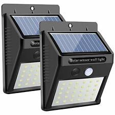 Solar Wall Light Outdoor, Karrong 30 Led Super Bright Security Motion Sensor