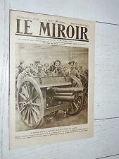 MIROIR 10/02 1918 GUERRE 14/18 RUSSIE 480 CANADA MONT TOMBA BAGDAD AVIONS GOTHA