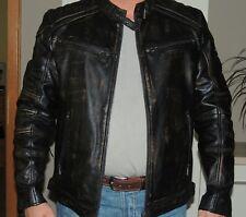 Gipsy Büffellederjacke --Bikerjacke  Herren Gr. XXL