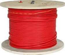 18/2 SHIELDED SOLID FIRE ALARM CABLE FPLR NON- PLENUM RED 1000FT US MADE