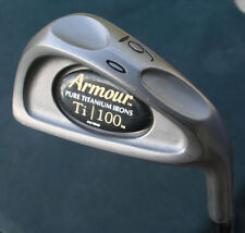 Tommy Armour Ti 100 Pure Titanium 6 Iron Original Regular Flex Graphite Shaft