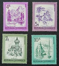 AUTRICHE timbre - Yvert et Tellier n°1259 à 1262 n** stamp Austria (cyn5)