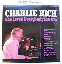 CHARLIE RICH - She Loved Everybody But Me - Ex Con LP Record RCA Camden CDS 1140