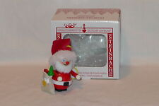 Steinbach Ornament Santa w/ Sack & Tree Wooden Hand Made in Germany