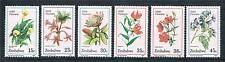 Zimbabwe 1989 Wild Flowers SG 750/5 MNH