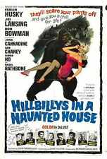 Hillbillys In Haunted House Poster 01 A3 Box Canvas Print