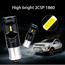Pair 1156 LED Fog Light Bulb DRL Car Driving Lamps Lamps 80W 12V 6000K White