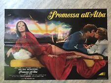 SOGGETTONE PROMESSA ALL'ALBA Promise at Dawn, Assaf Dayan, Melina Mercouri