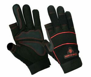 2 Half Finger Gloves North west - Carpenter Builder Farmer Electrician Gloves UK
