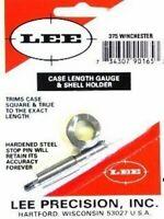 Lee Reloading Case Length Gauge & Shell Holder 375 Winchester 90165