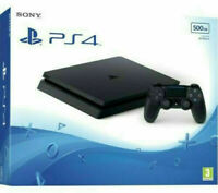 PS4 Slim 500GB Black Console New Same Day Dispatch Super Fast Delivery Free