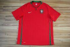 SIZE XL PORTUGAL NATIONAL TEAM FOOTBALL SHIRT 2008/09/10 HOME NIKE JERSEY XLARGE