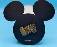 Walt Disney Classic Collection Signature Movie Film Scroll Ears Pin Tie Tack NOS