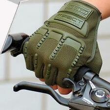 Mens Motorcycle Outdoor Sport Cycling Gloves Half Finger Glove Mitten New v1