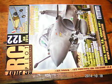 RC Pilot n°122 Plan encarté Nieuport XI / Piper PA-18 Tiger Moth P51 UMX