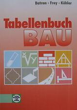 Tabellenbuch Bau 2010