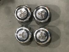 1 Set Mitsubishi Montero  Center Caps Hubcaps Chrome Black 1999-2004 MB816581