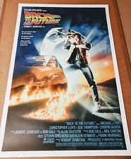 Drew Struzan Back to the Future SIGNED Screenprint Poster Art Print Credits