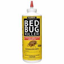 Harris Bed Bug Killer, Diatomaceous Earth Powder Poison Treatment Home Apartment