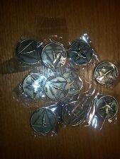 "Lucifer Morningstar (lot of 3)  - 1 1/4"" Solid Brass 3D  Coin"
