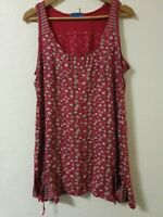 Joe Browns Floral Relaxed Fit Tunic Top Size 10