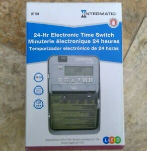 🌟🎈 Intermatic DT104 24 Hour Electronic Time Switch Indoor/Outdoor $129 @ HD 🌟