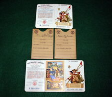 VINTAGE BOY SCOUT- 1945 & 1946 MEMBERSHIP CARDS - CHANGE FROM THREE TO TWO PARTS