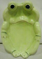 Ceramic Frog Soap Dish