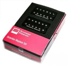 Seymour Duncan DISTORTION MAYHEM Pickup Set SH-6n Neck & SH-6b Bridge BLACK