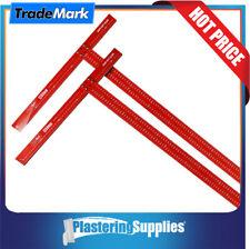 TradeMark T-Square Combo Aluminium Calibrated 1200mm & 1350mm X 5mm Thick TS12