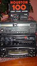 3 autoradio + 1 amplificatore vintage