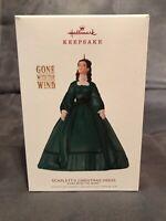 2018 Hallmark Keepsake Scarlett's Christmas Dress Gone With The Wind