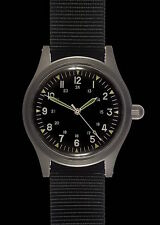 GG-W-113 US 1960's Pattern Military Watch (quartz) with Sweep Second Hand