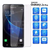 Ecran Verre Trempé Protecteur 9H Oléophobe Revêtement pour Samsung J3 Pro 2016