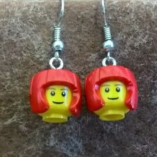 Double 2x2 Lego Bricks Cute The Cheapest Price Fun Lego® Red And Yellow Dangle Earrings Keepsakes & Baby Announcements Other Baby Keepsakes