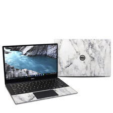 White Marble Decal Sticker Skin for Dell XPS 13 9370 Laptop