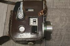 Bell + Howell Sportster IV Clockwork Cine Vintage Camera In Original Case