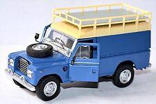 Land Rover Series III 109-1971-84 Azul Azul 1:43
